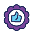 thumbs-up-recognition-icon
